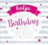 Geburtstagskerze mit Namen Katja