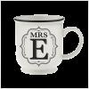 H&H Becher Mrs E - für Hochzeit, Jubiläum und Jahrestag