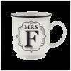 H&H Becher Mrs F - für Hochzeit, Jubiläum und Jahrestag