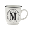 H&H Becher Mrs M -für Hochzeit, Jubiläum und Jahrestag