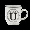 H&H Becher Mrs U - für Hochzeit, Jubiläum und Jahrestag