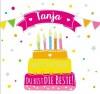 Geburtstagskerze mit Namen Tanja