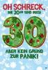 Musikkarten mit Überraschung 007b zum 30. Geburtstag