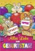 Musikkarten mit Überraschung 015a Yippee Geburtstag Party