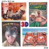 3D Depesche Postkarte mit lustigem Motiv 040