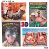 3D Depesche Postkarte mit lustigem Motiv 003