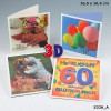 Depesche 3D Klappkarte 020 HAPPY BIRTHDAY