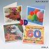Depesche 3D Klappkarte 045c Zum Geburtstag beste Wnsche