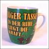 Tasse für Jäger in der Ruhe liegt die Kraft Artikel 90499