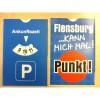 Gilde Fun Auto Parkscheibe Parkuhr mit Spruch 1