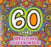 Geburtstagskarte mit Musik 3868-037C zum 60. Geburtstag