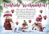 Lustige Weihnachtskarte 8634-025