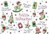 Lustige Weihnachtskarte 8634-034