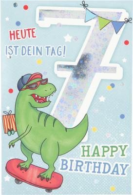 Depesche Zahlenkarten mit Musik 7 Heute ist dein Geburtstag! Happy...