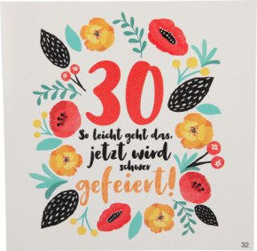 Geburtstagskarte mit Musik 3868-032- 30 So leicht geht das, jetzt wird...