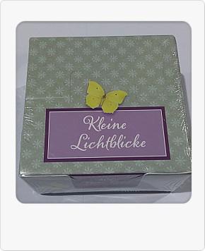 Groh dekorative Box mit Notiz Zetteln Kleine Lichtblicke