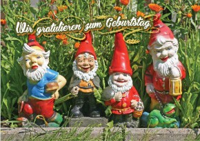 Depesche 3D Foto Medi Klappkarte 001B Geburtstag