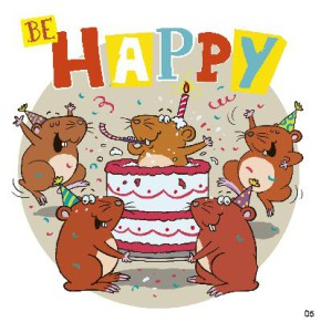 Geburtstagskarte mit Musik 3868-005c Be HAPPYHeute ist ein ganz besonderer Tag! Du hast Geburtstag. Lass dich verwöhnen und hab viel Spaß!