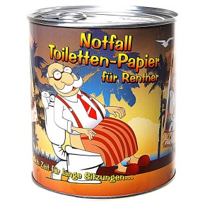 Toilettenpapier in Dose Für Rentner