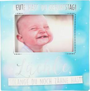Geburtstagskarte Klappkarte 3D mit Musik & Licht Heute hast du Geburtstag! Lächle, ...