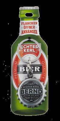 Echter Kerl Flaschenöffner Anhänger - Bernd
