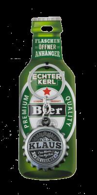 Echter Kerl Flaschenöffner Anhänger - Klaus