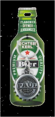 Echter Kerl Flaschenöffner Anhänger - Paul