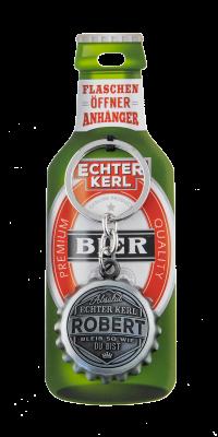 Echter Kerl Flaschenöffner Anhänger - Robert