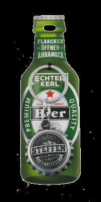 Echter Kerl Flaschenöffner Anhänger - Steffen