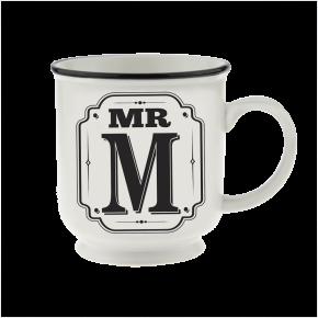 H&H Becher Mr M - für Hochzeit, Jubiläum und Jahrestag