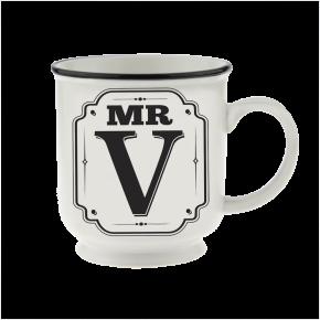 H&H Becher Mr V- für Hochzeit, Jubiläum und Jahrestag