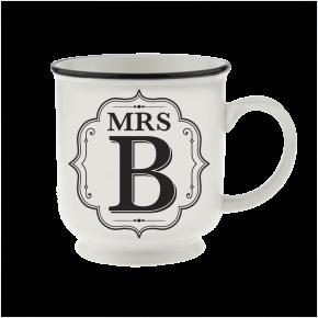 H&H Becher Mrs B - für Hochzeit, Jubiläum und Jahrestag