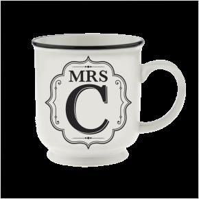 H&H Becher Mrs C - für Hochzeit, Jubiläum und Jahrestag