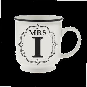 H&H Becher Mrs I - für Hochzeit, Jubiläum und Jahrestag