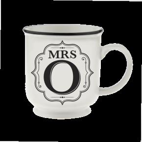 H&H Becher Mrs O  - für Hochzeit, Jubiläum und Jahrestag