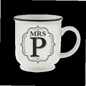 H&H Becher Mrs P - für Hochzeit, Jubiläum und Jahrestag