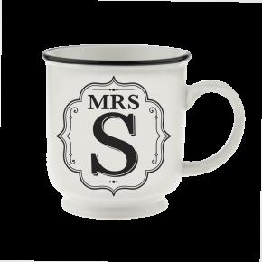 H&H Becher Mrs  S - für Hochzeit, Jubiläum und Jahrestag