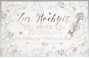 Klappkarte für Geldgeschenke 2239-032B Zur Hochzeit