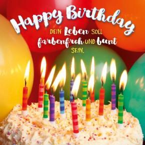 Depesche 3D Klappkarte 044C Happy Birthday