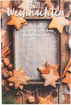 Weihnachtskarten mit Musik und Licht- Frohe Weihnachten Rezept für eine..