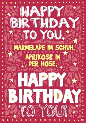 Musikkarten mit Überraschung 002a Happy Birthday