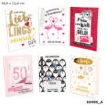 100% Glitzer Geburtstagskarte Anlasskarte Klappkarte10496-054