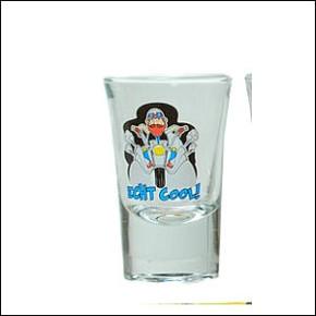 1 Schnapsglas für Motorradfahrer