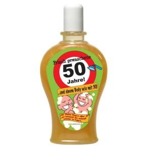 Frisch gewaschene 50 Jahre Spaß Shampoo Artikel 6304