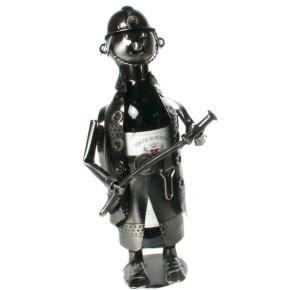 Flaschenhalter Weinflaschenhalter Feuerwehrmann