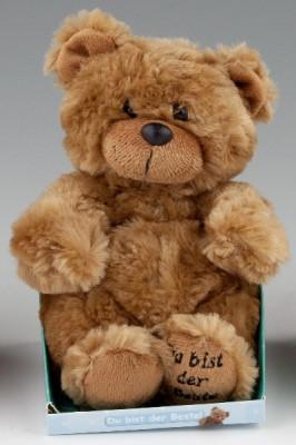 Plüschteddy Teddybär für Kinder 001 der Beste langes Plüsch
