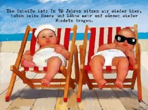 3D Depesche Postkarte mit lustigem Motiv 013