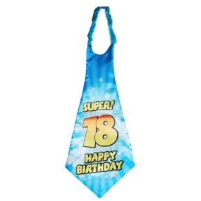 """Riesen-Krawatte """"18"""", bunt"""