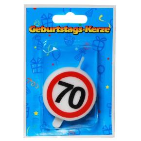 """Tortenkerze """"70"""" Zahlenkerze 20g (Grundpreis 100g: 39,75 EUR)"""