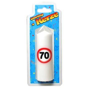 Geburtstags Kerze zum 70. Geburtstag 135g Grundpreis 100g: 2,93 EUR